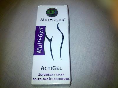 1839. Multi-Gyn ActiGel żel dla kobiet pomocny w infekcjach intymnych
