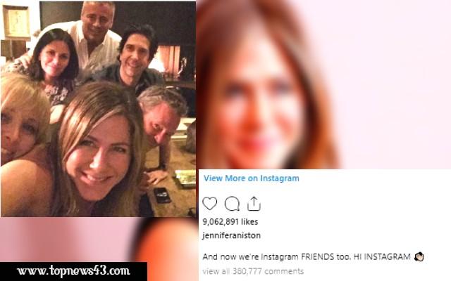 Jennifer Aniston Breaks Instagram