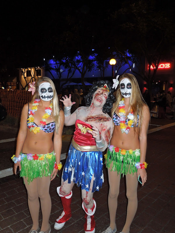 West Hollywood Halloween Carnaval twins