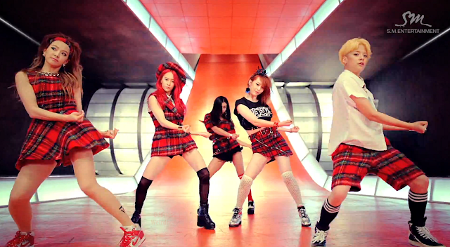 "Oddness/Weirdness: Video of the Day: f(x)'s ""Rum Pum Pum ... F(x) Luna Rum Pum Pum Pum"