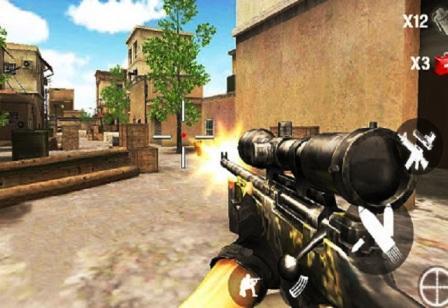 यूएस स्नाइपर हत्यारा शूट   बन्दुक वाला गेम