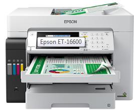 Epson EcoTank ET-16600 Driver Downloads - Driver Software Utility
