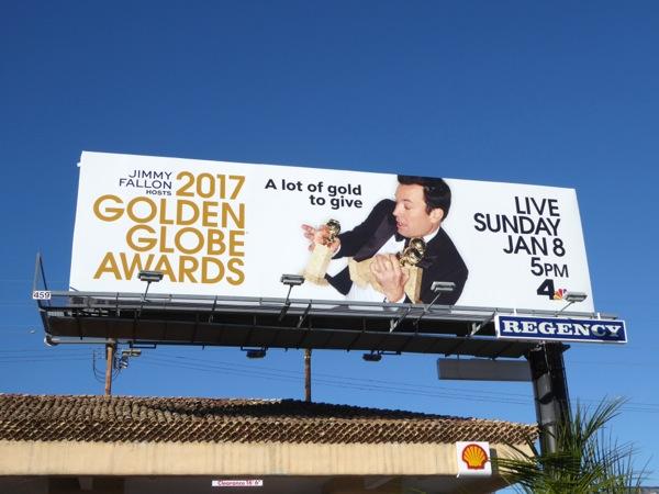 2017 Golden Globe Awards billboard