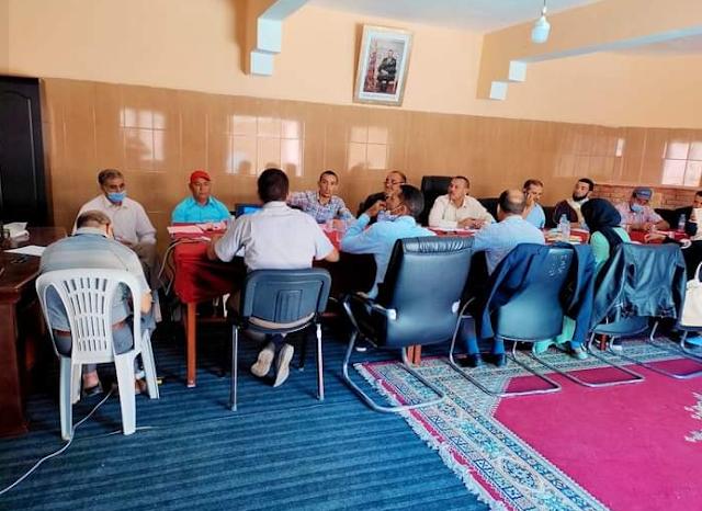 مجلس جماعة تزي نتاست يعقد الدورة الاستثنائية 01.10.2021