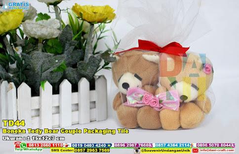 Boneka Tedy Bear Couple Packaging Tile