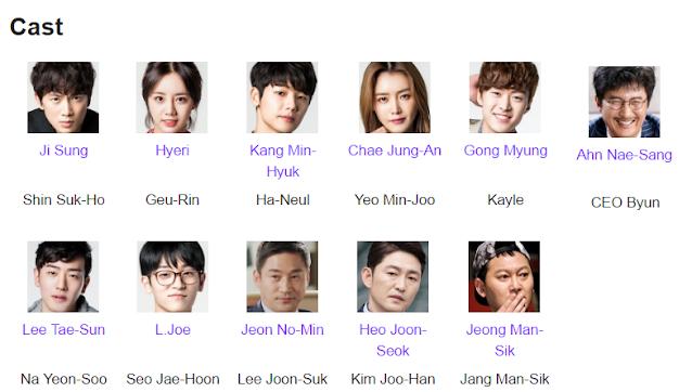 Entertainer Korean Drama Cast