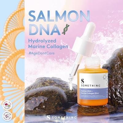 Komposisi Ajaib Somethinc Salmon DNA + Marine Collagen Elixir