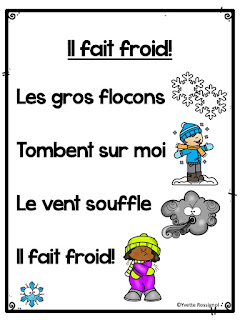 https://www.teacherspayteachers.com/Product/Poemes-pour-lhiver-French-Winter-Pocket-Chart-Poems-4552837