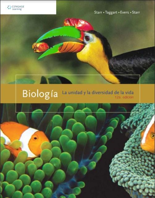 Biología la unidad y la diversidad de la vida Starr Taggart 12 Edición en pdf