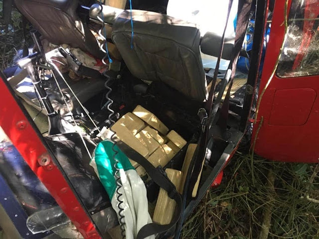 Helicóptero que transportava drogas cai em região de mata de Ibiúna, interior de SP; não há registro de vítimas