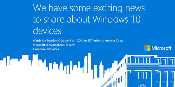 Microsoft Windows 10 Devices Event