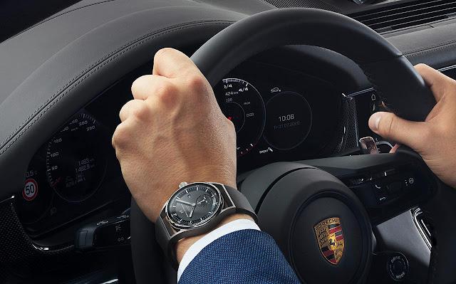 Porsche Design Sport Chrono Subsecond 6023.3.11.001.07.2 in black