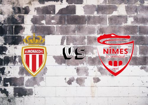 AS Monaco vs Nîmes   Resumen