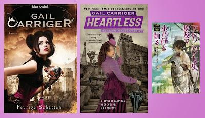 Reseña de la novela steampunk de fantasía romántica Heartless, de Gail Carriger