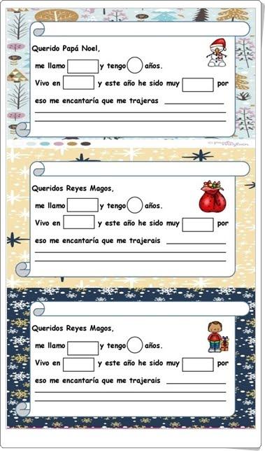 """""""Cartas a Papá Noel y a los Reyes Magos"""""""