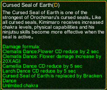 naruto castle defense 6.4 Cursed Seal of Earth detail