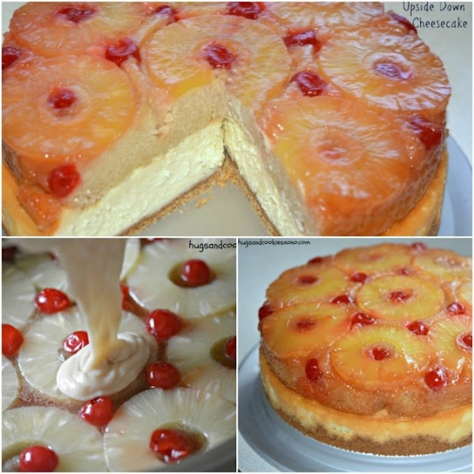 Incredible Pineapple Upside-Down Cheesecake