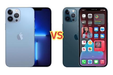Apple iPhone 12 Pro Max vs Apple iPhone 13 Pro Max