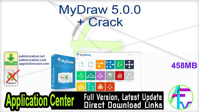 MyDraw 5.0.0 + Crack