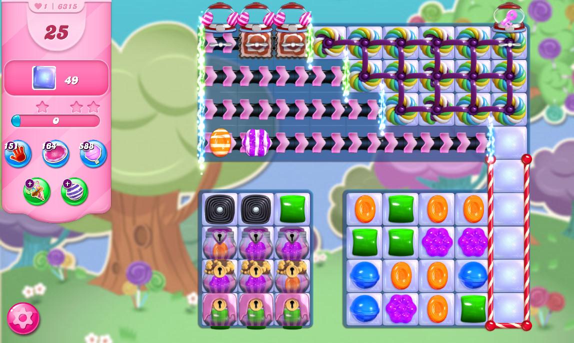 Candy Crush Saga level 6315