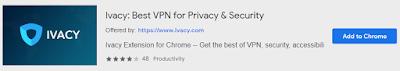 IvacyVPN | Best VPN Extensions for Chrome | Mr Tech Care