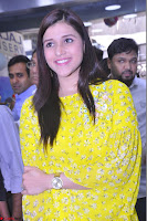 Mannara Chopra Looks Cute in Yellow Salwar Suit ~  Exclusive 24.JPG