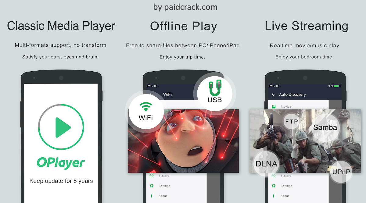OPlayer Paid Apk