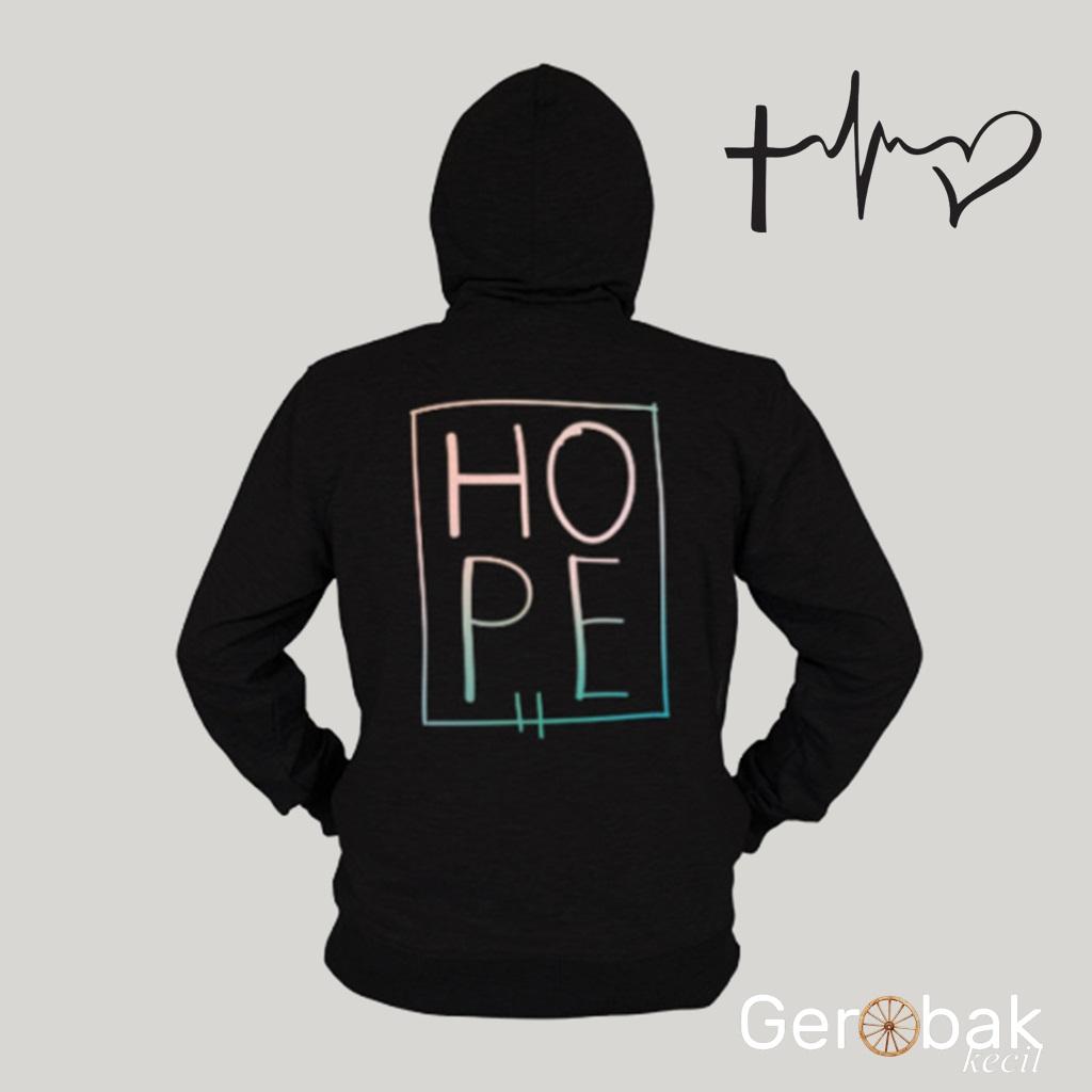Jual Jaket Hoodie Zipper HOPE Premium Quality