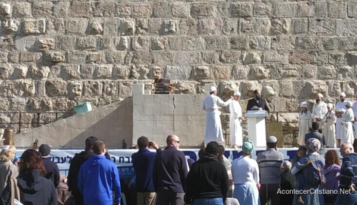 Altar de sacrificios para el Tercer Templo