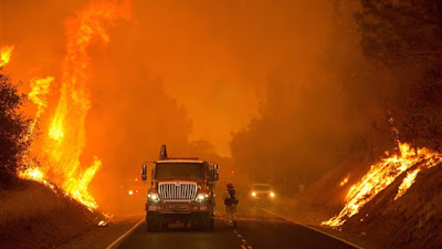 حرائق شمال كاليفورنيا