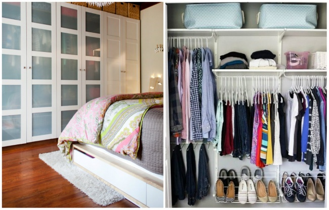 7 secrets to perfect order in the closet