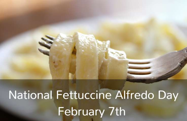 National Fettuccine Alfredo Day Wishes Photos