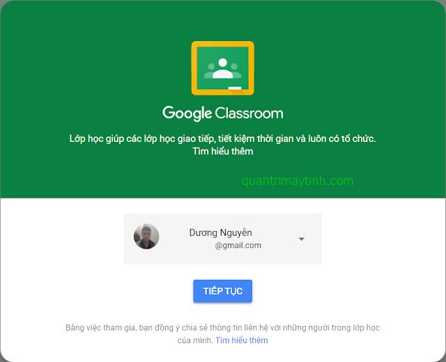 lớp học online