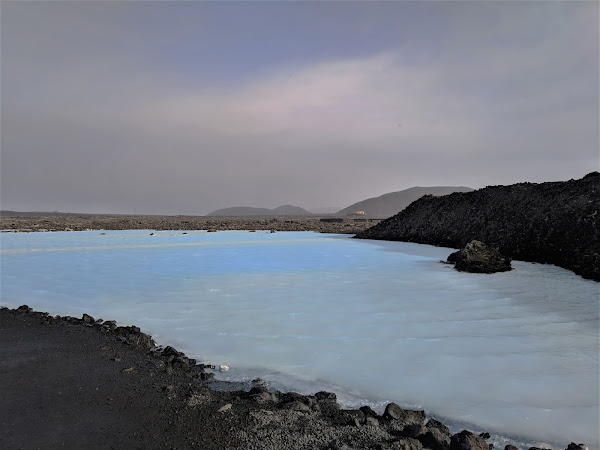 Iceland: The Blue Lagoon and lunch at Lava