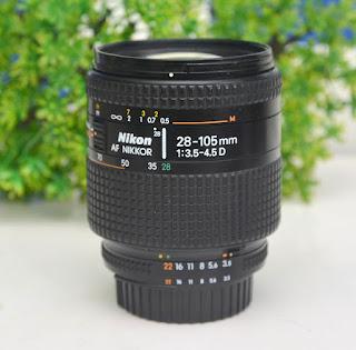 AF-D Nikon 28-105mm Bekas