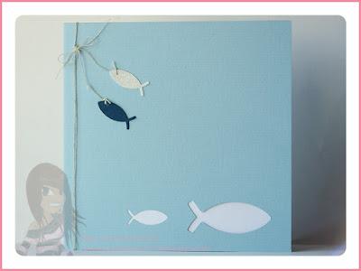 Stampin' Up! rosa Mädchen Kulmbach: Konfirmations-/Kommunionkarten mit Fischen