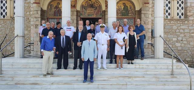 Ο Σύλλογος Αποστράτων Στελεχών Λιμενικού Σώματος Αργολίδας τίμησε τον προστάτη του