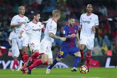 مشاهدة مباراة برشلونة واشبيلية