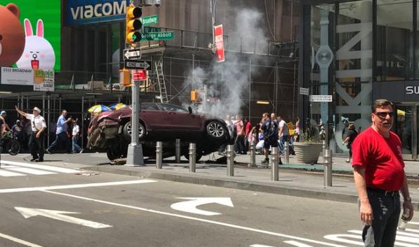 Times Square chaos