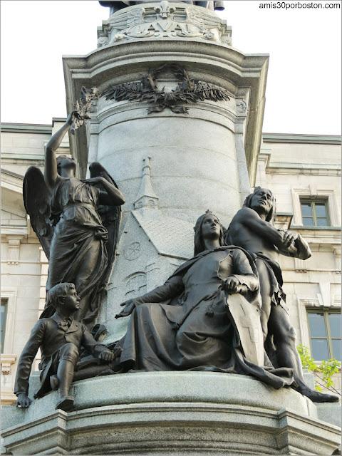 Monumento a Francisco de Laval en la Ciudad de Quebec