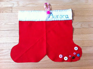 How to make personalized christmas stocking