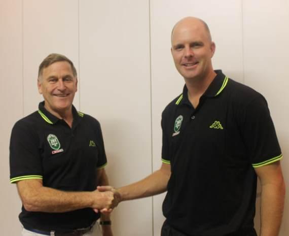 Steve Bezuidenhout (Right) at AmaZulu FC