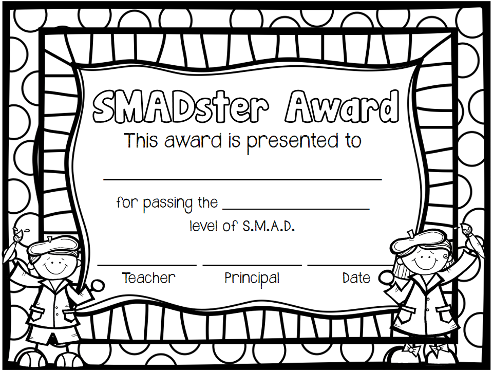 The Teaching Sweet Shoppe!: SMAD! Math Fact Fluency