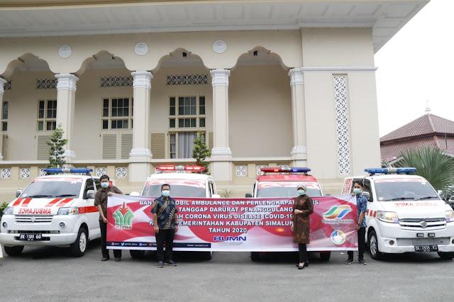 PTPN IV Siagakan Mobil Ambulance di Kabupaten Simalungun