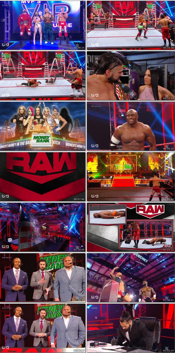 Download WWE Monday Night RAW Live 27 April 2020 ORG English 720p-480p movie