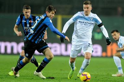 مشاهدة مباراة لاتسيو واتلانتا بث مباشر اليوم 19-10-2019 في الدوري الايطالي