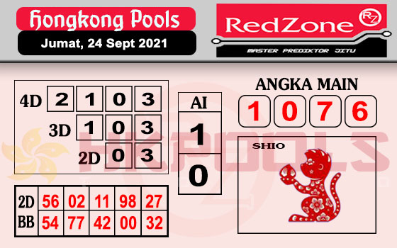 Redzone HK Jumat 24 September 2021 -