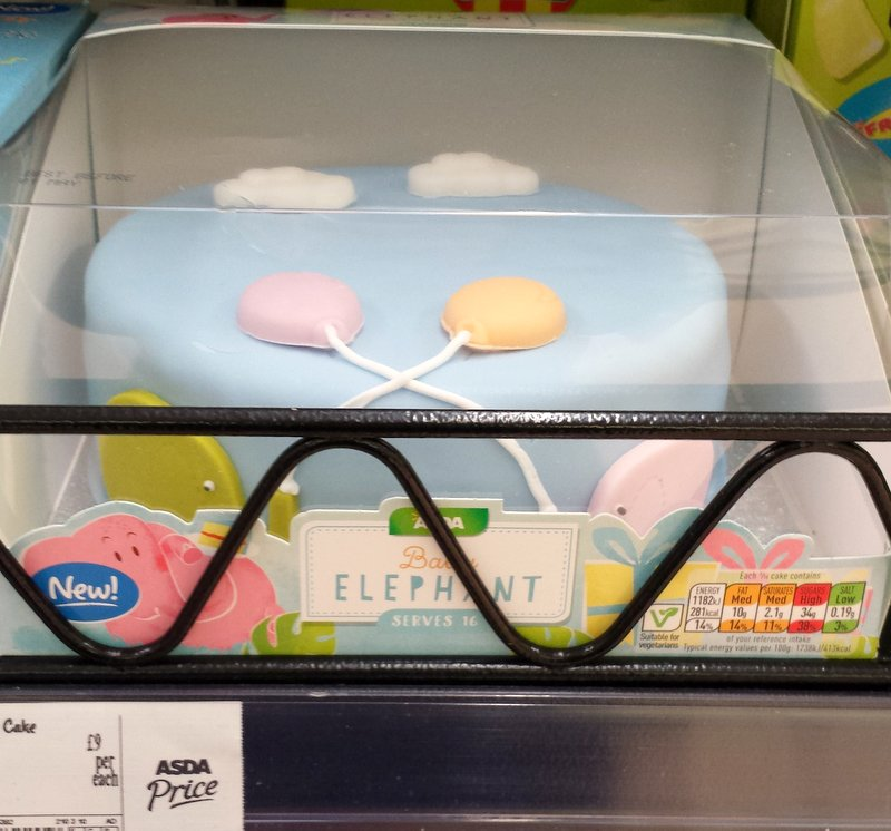 Asda Design Your Own Photo Cake : Grocery Gems: New Instore: Asda Celebration Cakes, Mr ...