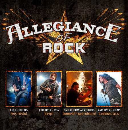 ALLEGIANCE OF ROCK: Θα εμφανιστούν στο Stockholm Rocks Festival