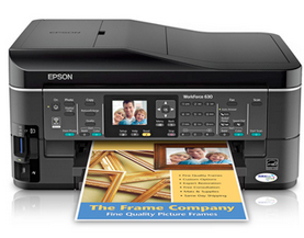 Epson WorkForce 630 driver & software (Recommended)